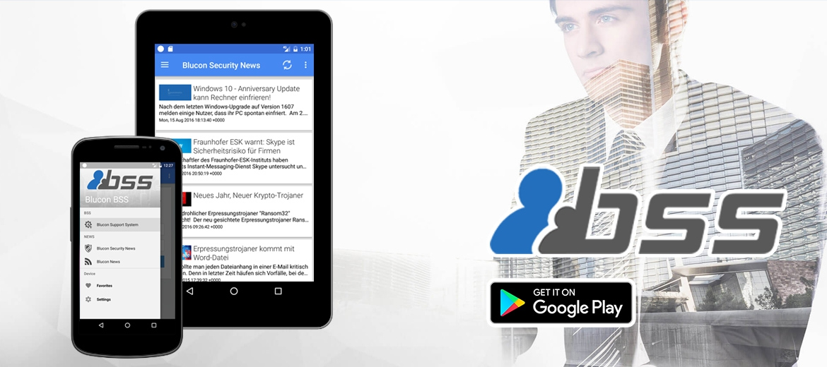 Blucon Support System - Android App