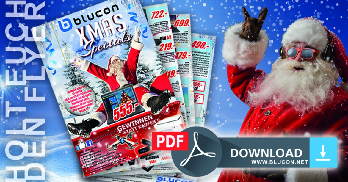 Blucon XMAS Specials FLYER